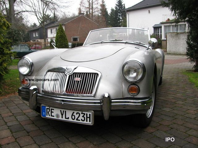 MG  MGA 1960 Vintage, Classic and Old Cars photo