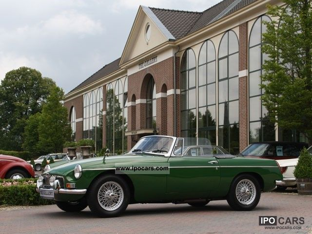 MG  B Roadster 1964 Vintage, Classic and Old Cars photo
