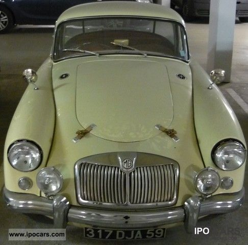 MG  MGA 1958 Vintage, Classic and Old Cars photo