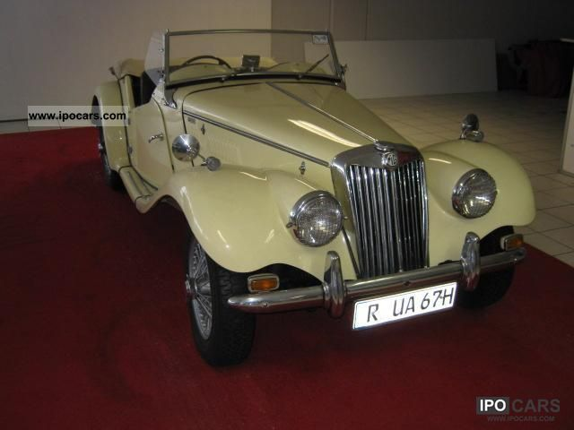 1954 MG  TF Cabrio / roadster Classic Vehicle photo