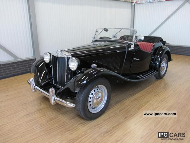 MG  TD Convertible 1953 Vintage, Classic and Old Cars photo