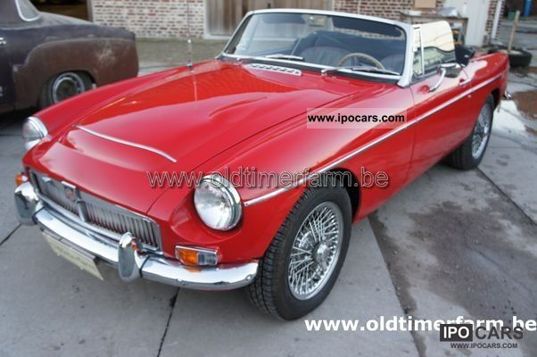 1968 MG  C red 1968 Cabrio / roadster Used vehicle photo