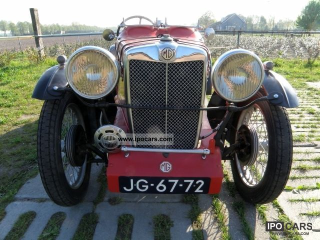 1932 MG  Type M was pre-1932 sports Cabrio / roadster Classic Vehicle photo