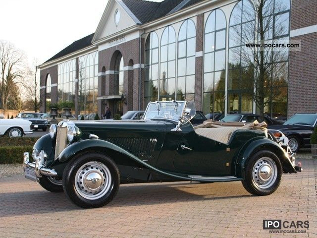 MG  TD Convertible 1951 Vintage, Classic and Old Cars photo