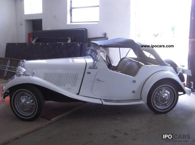 MG  TD 1950 Vintage, Classic and Old Cars photo