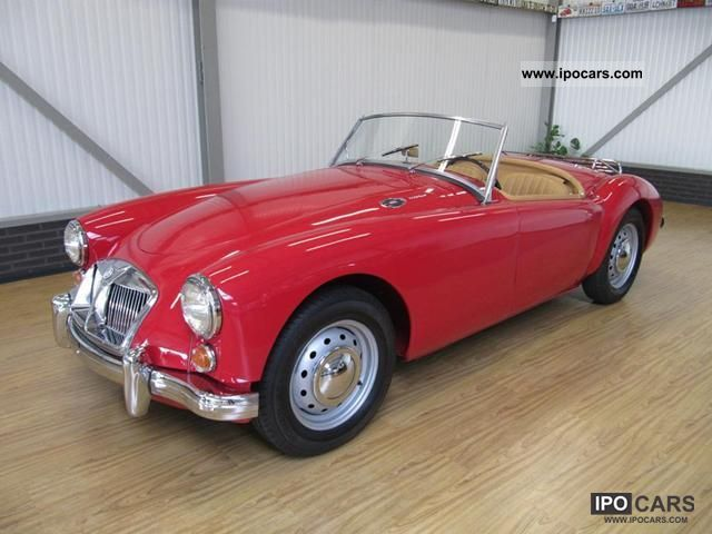 1962 MG  MGA 1600 Roadster MK11 Cabrio / roadster Classic Vehicle photo