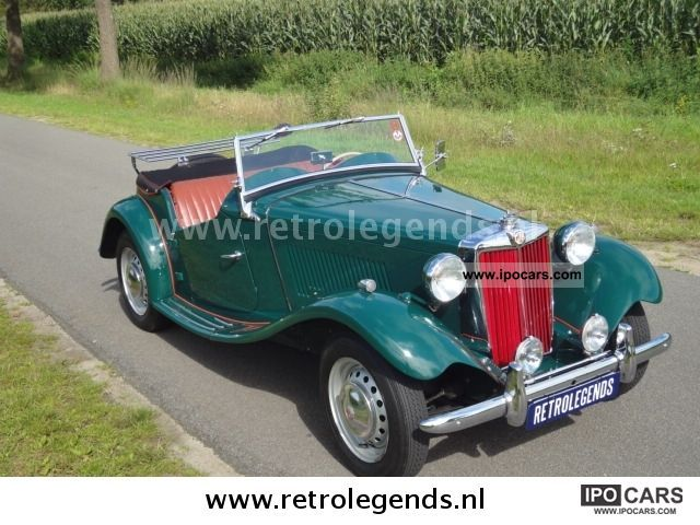 MG  TD 1951 Vintage, Classic and Old Cars photo