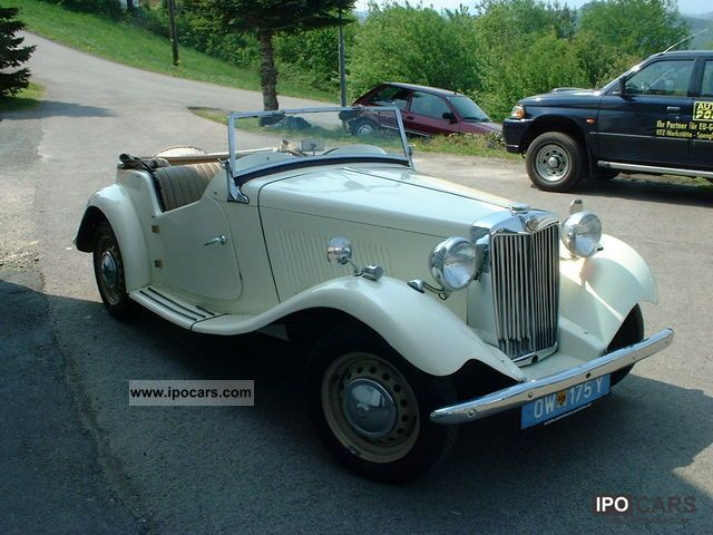 MG  TD mark with H 1952 Vintage, Classic and Old Cars photo