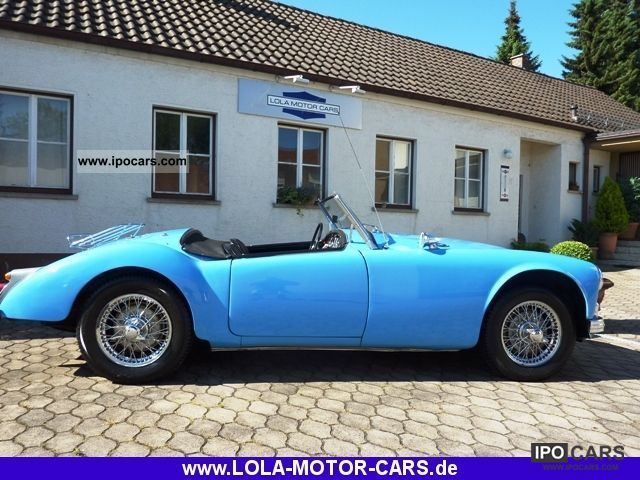 MG  A 1600 MkI - Roadster 1959 Vintage, Classic and Old Cars photo