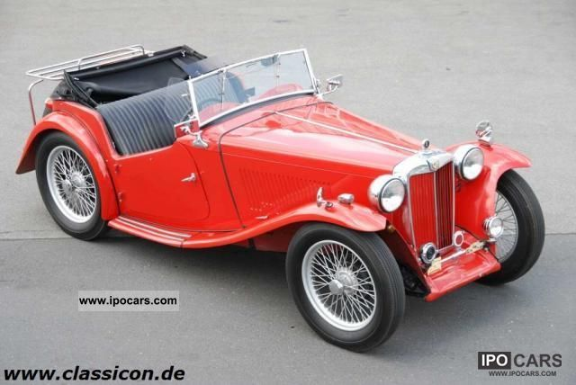 1948 MG  TC - RHD Cabrio / roadster Classic Vehicle photo