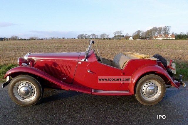 MG  TD Midget Roadster 1.3 1953 Vintage, Classic and Old Cars photo