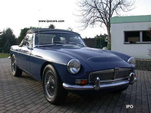 MG  MGC Roadster 1969 Vintage, Classic and Old Cars photo