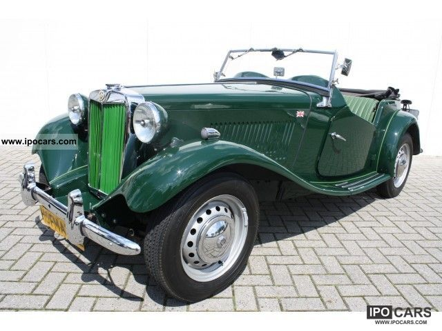 MG  TD Gerestaureerd Perfect! 1953 Vintage, Classic and Old Cars photo