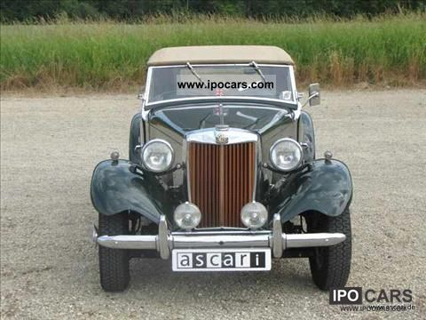 MG  TD 2 1953 Vintage, Classic and Old Cars photo