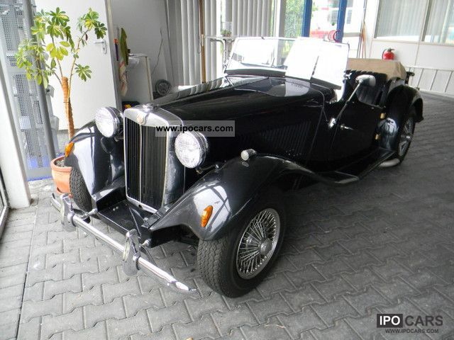 MG  TD 1954 Vintage, Classic and Old Cars photo