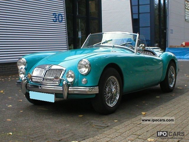 MG  MGA ROADSTER 1956 Vintage, Classic and Old Cars photo