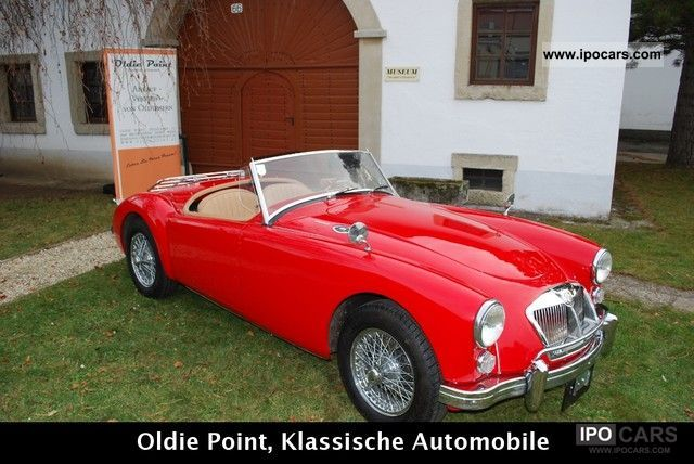 MG  MGA 1962 Vintage, Classic and Old Cars photo