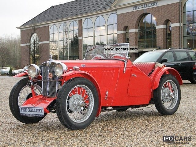 MG  J2 \ 1933 Vintage, Classic and Old Cars photo