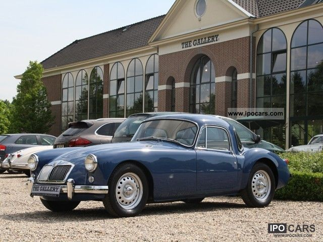 MG  A Twin Cam Coupe LHD 1959 Vintage, Classic and Old Cars photo