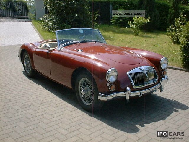 1961 MG  A 1600 MKII H-plates Cabrio / roadster Classic Vehicle photo
