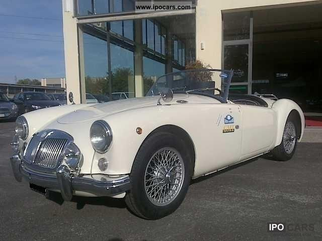 MG  MGA 1956 Vintage, Classic and Old Cars photo