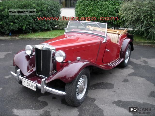 MG  TD 1 1951 Vintage, Classic and Old Cars photo