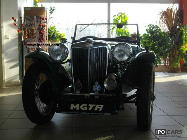 MG  TA Roadster with H-plates 1936 Vintage, Classic and Old Cars photo