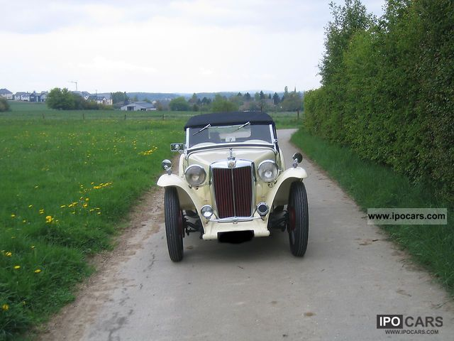 1948 MG  TC Cabrio / roadster Used vehicle photo
