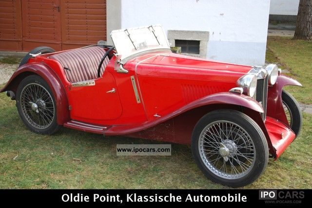 MG  PA 1934 Vintage, Classic and Old Cars photo