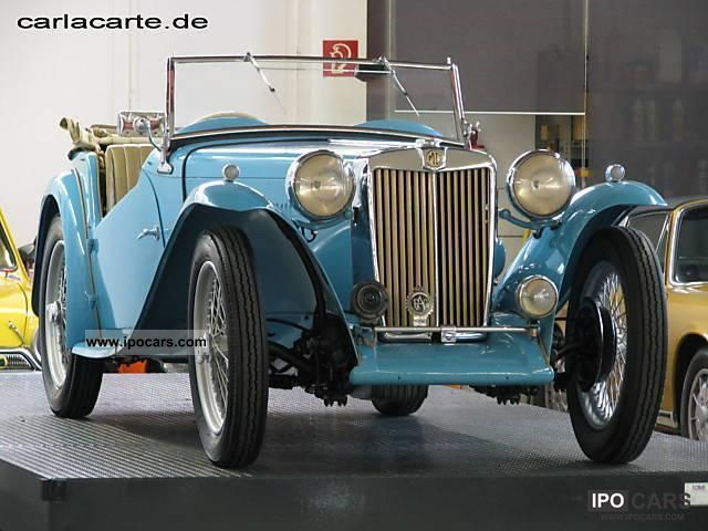 MG  TC Roadster 1948 Vintage, Classic and Old Cars photo
