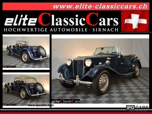 MG  TD / C Competiton 1953 Vintage, Classic and Old Cars photo