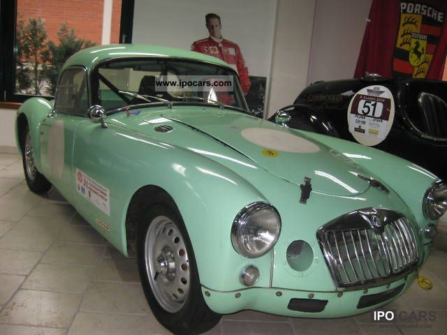 MG  Twin Cam 1959 Vintage, Classic and Old Cars photo