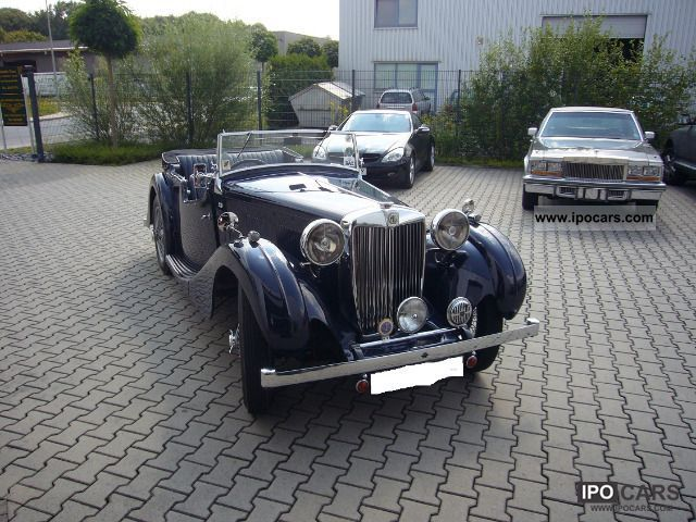 1938 MG  VA Tourer Cabrio / roadster Classic Vehicle photo