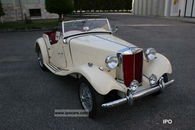 MG  TD Midget 1953 Vintage, Classic and Old Cars photo