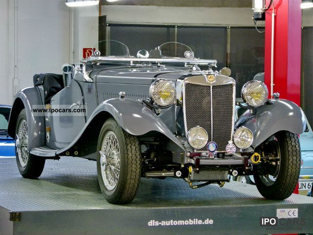 MG  TD MkII \ 1953 Vintage, Classic and Old Cars photo