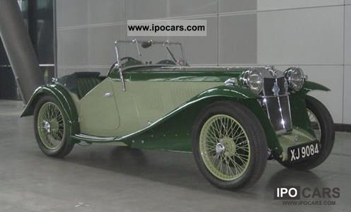 1933 MG  L2 Cabrio / roadster Classic Vehicle photo