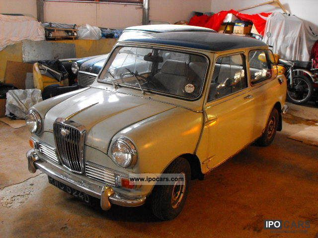 MINI  Wolseley Hornet 1966 Vintage, Classic and Old Cars photo