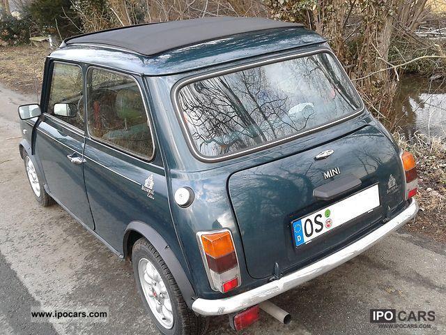 1995 Mini Balmoral Folding Roof Car Photo And Specs