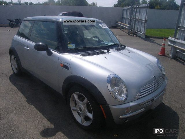 2004 mini cooper car photo and specs. Black Bedroom Furniture Sets. Home Design Ideas