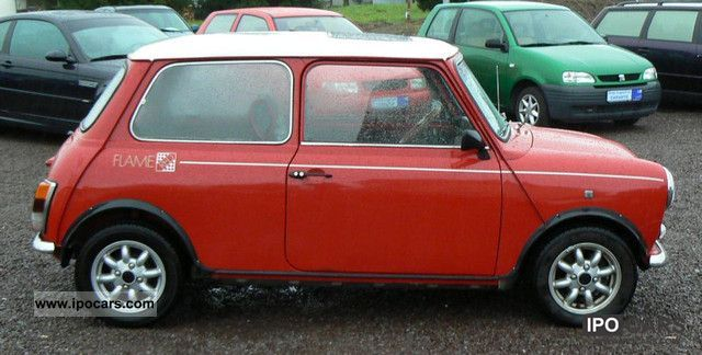 1990 Mini Cooper Mk Ii Reduced Red Flame Collector S