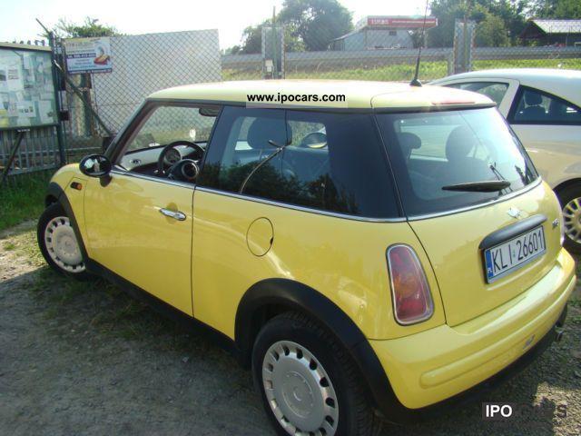 Specs Mini Cooper s 2003 2003 Mini Cooper Small Car