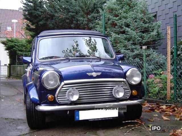 1996 MINI  Mini Blue Star Small Car Used vehicle photo