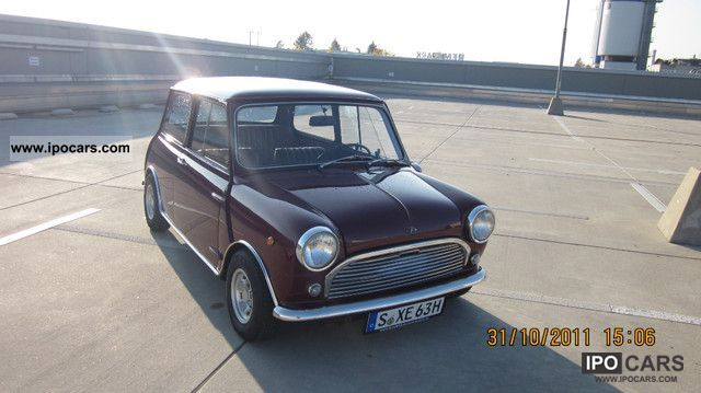 MINI  INNOCENTI MK II with H-ADMISSION (exchange inzahl) 1969 Vintage, Classic and Old Cars photo