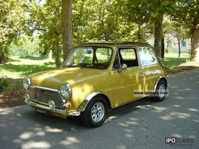 MINI  innocenti mini cooper 1972 Vintage, Classic and Old Cars photo