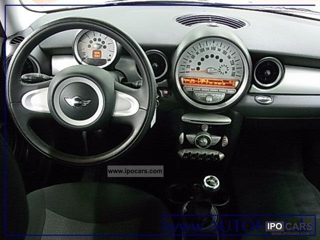 2009 Mini Cooper D 16 Air Car Photo And Specs