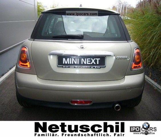 2008 Mini Cooper D Xenon Sitzh Air Car Photo And Specs