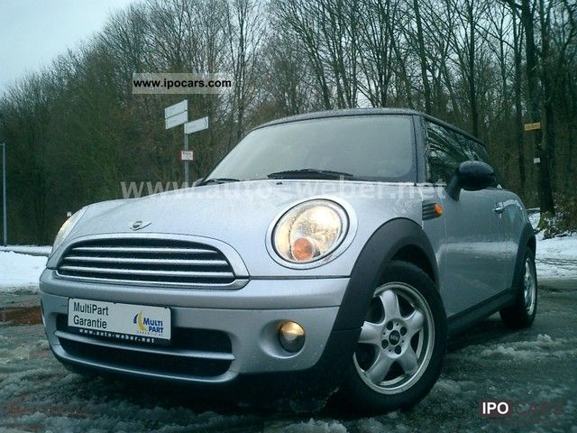 2008 MINI  COOPER D * 1.Hd. * AIR * BC BREAK * LM * ENERGY * R. Small Car Used vehicle photo