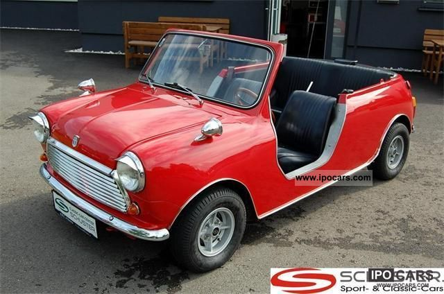 MINI  1000 mk III funcar 1971 Vintage, Classic and Old Cars photo