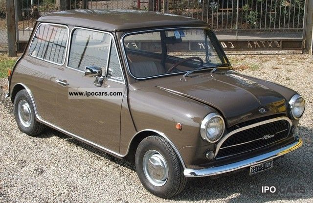 MINI  Innocenti 1001 LUSSO 1972 Vintage, Classic and Old Cars photo