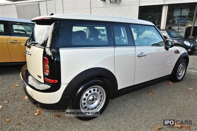 2009 Mini Salt Clubman Gl Roof 5 Seater Sports Seats Estate Car Used Vehicle Photo